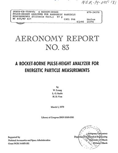 A rocket-borne pulse-height analyzer for energetic particle measurements (Analyzer Digital Pulse)