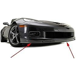 C6 Corvette GS ZO6 Front Chin Spoiler Sections Fits: 06 through 13 Grand Sport + Z06 Corvettes