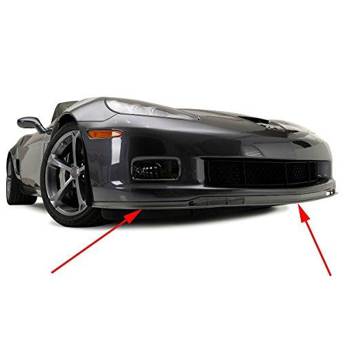 - C6 Corvette GS ZO6 Front Chin Spoiler Sections Fits: 06 through 13 Grand Sport + Z06 Corvettes