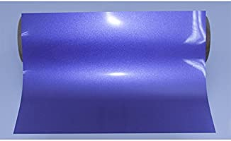 Flex Camiseta de textil pantalla para plotter 5 unidades DIN A4 – Metálico Púrpura – siser E0015: Amazon.es: Jardín