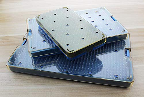 3PCS Autoclavable Surgery Silicone Disinfection Box L/M/S Size for microsurgical Instruments