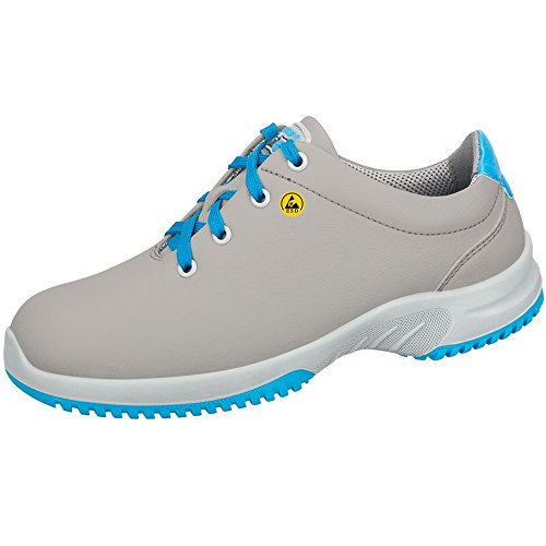 Abeba 36782-38 Uni6 Chaussures bas ESD Taille 38 Gris/Bleu