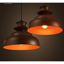 Injuicy Lighting RH Loft Industrial Edison Bulbs Village Wrought Iron Pot tower Golden Pendant