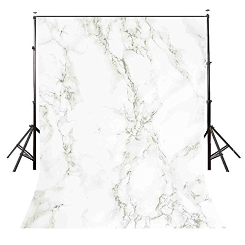 Lyly County 5×7 ft Marble Texture Pattern Studio Photography Backdrop Props BG941 by LYLYCTY