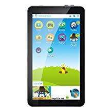 AOSON 7 Inch 16GB Kids Tablet PC Android 6.0 Quad Core IPS Touch Screen Display KIDOZ Pre installed with Parental Control-iWawa Wifi Dual Camera HD Video 3D Game M753 Tablets