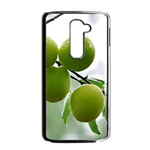 Fresh green fruits nature style fashion phone case for LG G2