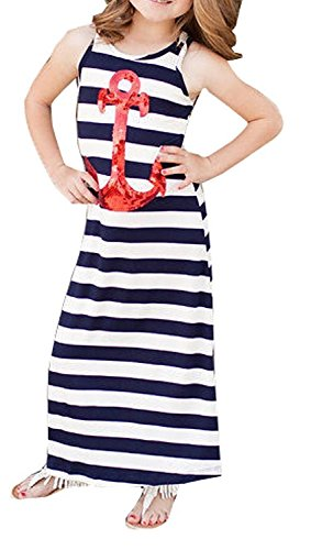 Toddlers Casual Sleeveless Anchors Striped product image