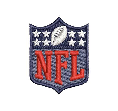 NFL Logo Shield Patch Super Bowl Brandy Rams Patriots 1 - Jersey Brandy