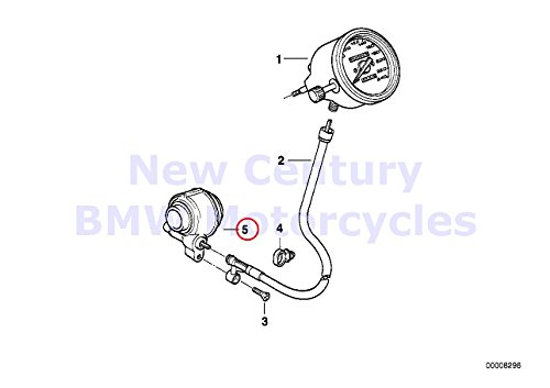 BMW R1100R Speedometer Drive Gear & Cable 62122306078 for sale  Delivered anywhere in USA
