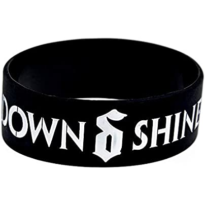 Sxuefang Silicone Bracelets With Sayings Shinedown Rubber Wristbands For Kids Motivation Set Pieces Estimated Price £29.99 -
