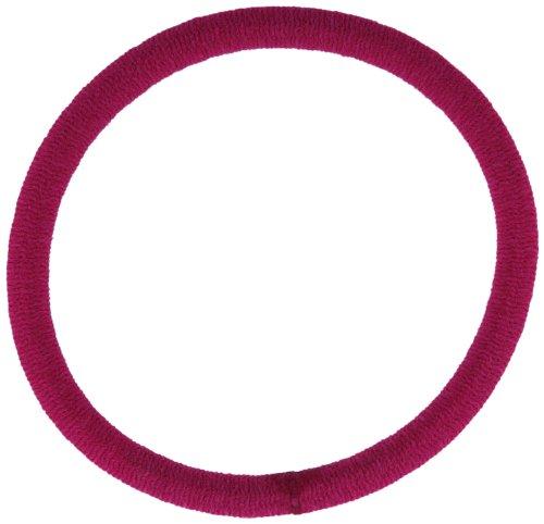 Trimweaver 48-Piece No Metal Elastic Ponytail Holders for Craft Work, 1-1/2-Inch, Azalea
