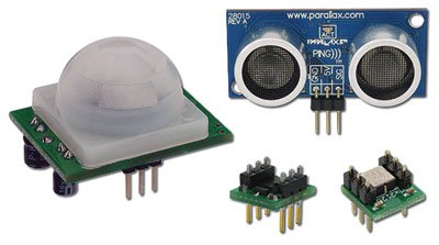 Parallax 29140, Introduction to Sensors Kit
