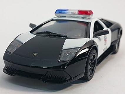 Amazon Com Kinsmart Lamborghini Murcielago Lp640 Black White