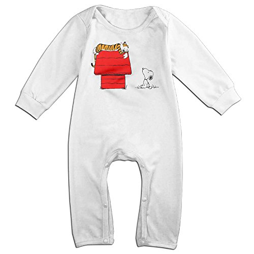 [HOHOE Newborn Calvin And Cute Hobbes Long Sleeve Baby Climbing Clothes 18 Months] (Hobbes Costumes For Sale)