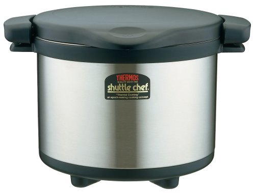 big 6L THERMOS vacuum insulation cooker shuttle chef 6L KPS-6001 BK by Thermos