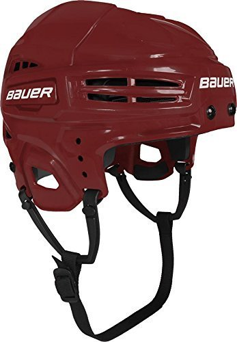 Bauer IMS 5.0 Helmet, Red, Medium