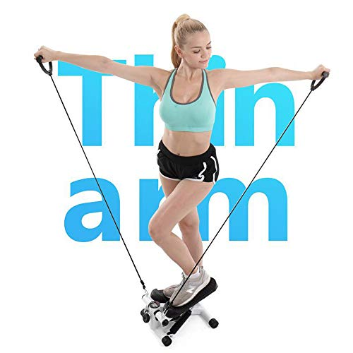 Iuhan  Health Fitness Mini Stepper with Band, Household Gym Hydraulic Mute Stepper Multi-Function Pedal Indoor Sports Stepper Legs by Iuhan  (Image #3)