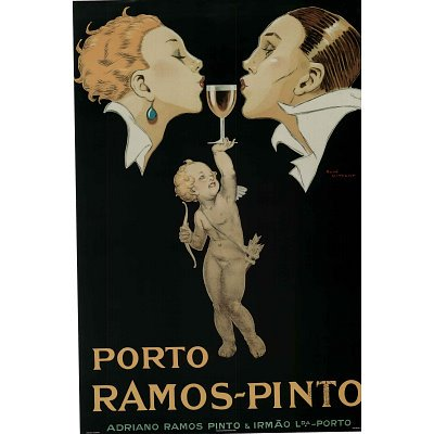 Canvas Gallery Wrap Rene Vincent (Porto Ramos-Pinto) Art Poster Print - 24x36 by Rich and Framous