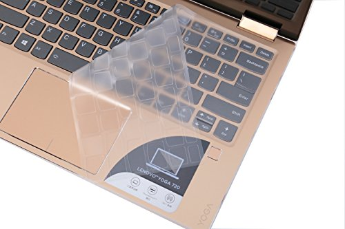 Leze - Ultra Thin Soft Keyboard Protector Skin Cover for Lenovo Yoga 720 - 13.3 Touch-Screen Laptop - TPU