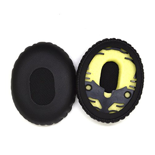 VEVER Replacement Ear Cushions Pad for Bose On-Ear OE, OE1, QuietComfort QC3 Audio Headphones (with VEVER LOGO package)