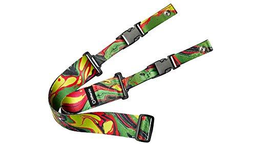 dimarzio dd2241 straps steve vai nylon cliplock guitar green universe w bonus 3767534746886 ebay. Black Bedroom Furniture Sets. Home Design Ideas
