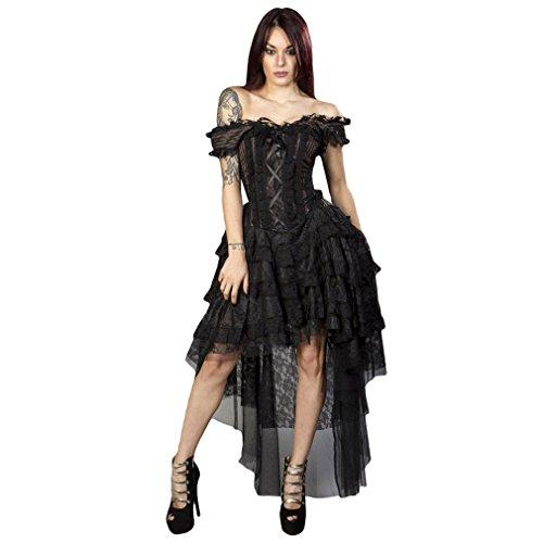 Burleska Burleska Robe Femme Marron Robe 0Oqxxw6a