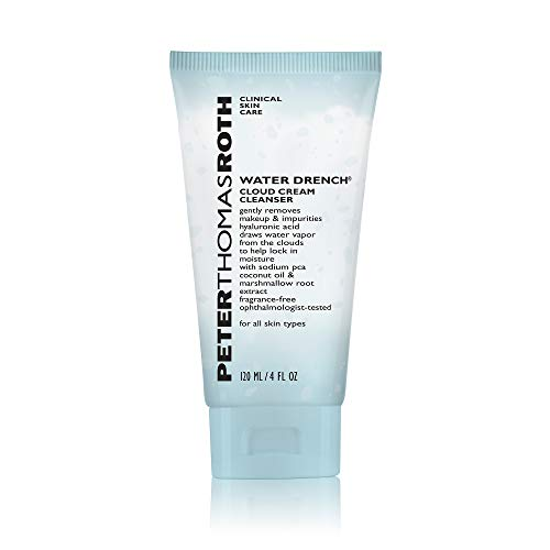 Peter Thomas Roth Water Drench Cloud Cream Cleanser, Hydrating Face Wash with Hyaluronic Acid