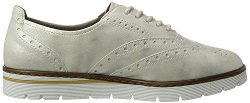 Portmore, Zapatos de Cordones Derby para Mujer, Blanco (Ice), 40 EU Jenny