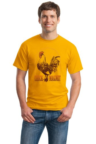 ROOSTER: CHICK MAGNET Unisex T-shirt / Funny Farmer 4H Farm Humor Tee