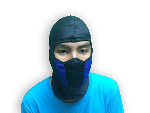 [Commando Balaclava thin & smooth,right weight and comfort with air filter cleaner for dust and smoke protection motorcycle mask] (Easy Bane Costumes)