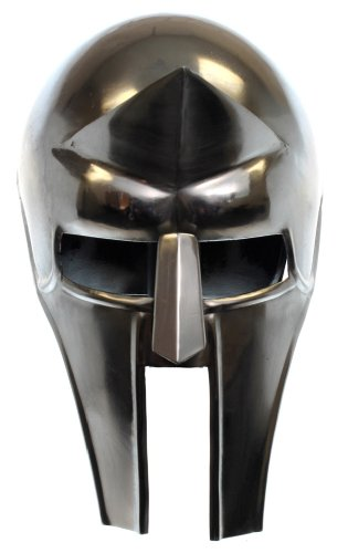Gladiator Helm (RedSkyTrader Mens Corinthian Gladiator Helm One Size Fits Most Metallic)
