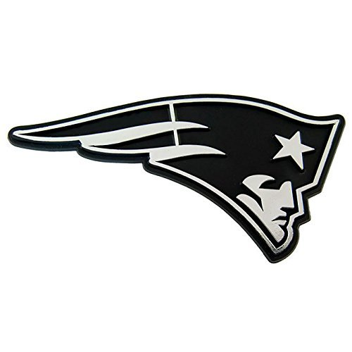 New England Patriots Chrome 3D for Auto Car Truck Emblem Decal Sticker Football Licensed Team Logo