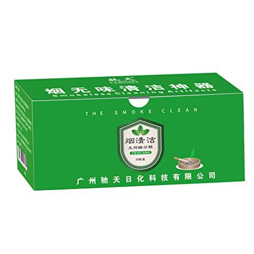 HankuNatural Fresh Air Purify Ashtray removes Smoke Biological Enzyme Deodorization ()