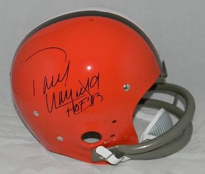 Paul Warfield Autographed Signed Cleveland Browns Full Sized Tk Throwback Helmet