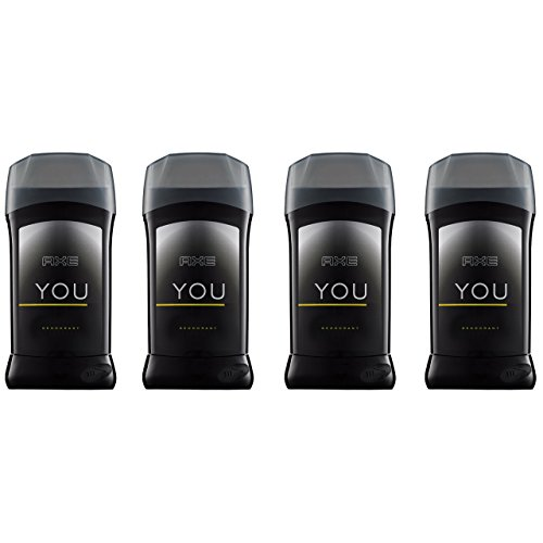AXE Antiperspirant Deodorant Stick for Men, YOU, 2.7 oz, 4 count