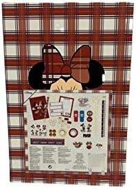 Disney Mickey Minnie Mouse Advent Calendar Baubles Christmas Decorative Ornaments