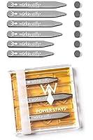 Wurkin Stiffs 3 Pairs of Assorted Collar Magnetic Power Stays