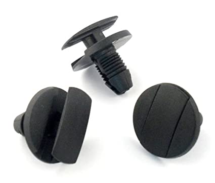 10 x Clips Plásticos Sujeción Paso De Rueda Guardabarros Faldones Para - Remaches Plásticos