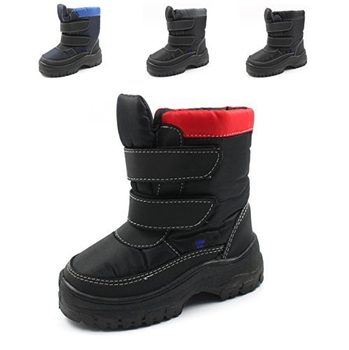 Winter Snow Boots Cold Weather Toddler//Little Kid//Big Kid Many Colors Unisex Boys Girls