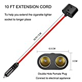 12V Female Waterproof Plug Extension Cable