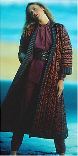 Folkwear 106 Turkish Coat Sewing Ethnic Pattern Reversible Quilted Vintage 1975
