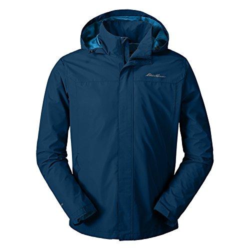 Eddie Bauer Men's Rainfoil Packable Jacket, Coast Regular S by Eddie Bauer