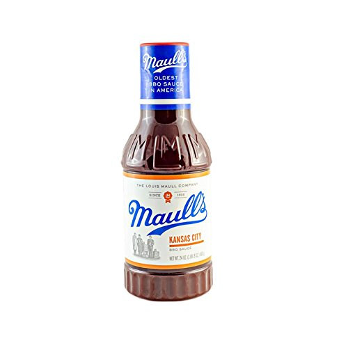 Style Barbeque Sauce (Maull's Kansas City Barbeque Sauce, 24 Ounce, Kansas City Style BBQ Sauce)