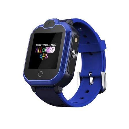 SMARTWATCH KIDS ALLO LOCALIZADOR 4G GPS BLUE LEOTEC: Amazon.es ...