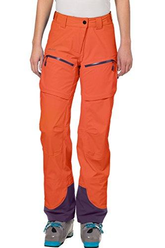 VAUDE Boe Pant para mujer Naranja - Hokkaido
