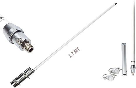Diamond VX-50N Antena de base 144-430 MHz sin radiales ...