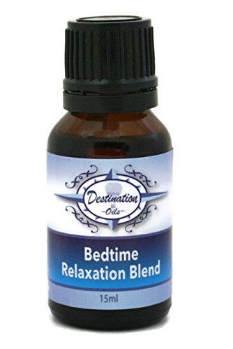 Destination Oils Bedtime - Essential Oils for Sleep Relaxation Blend - 15ml- 100% (Bedtime Blend)