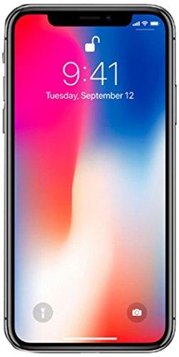 Apple iPhone X, GSM Unlocked, 64GB - Space Gray (Certified Refurbished)