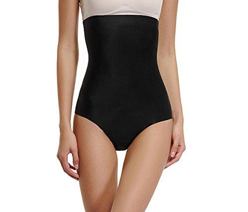 Brief Shaper Panty - Womens Underwear Briefs Control Panties High Waist Shapewear Body Shaper Postpartum Girdle(Black,XL)