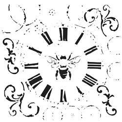 Bulk Buy: Crafters Workshop (3-Pack) Template 12\'X12\' Bee On Time TCW-489